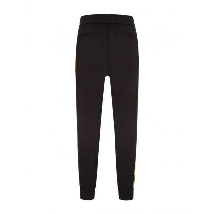 Black Slim-Fit Stereogram Sweatpants