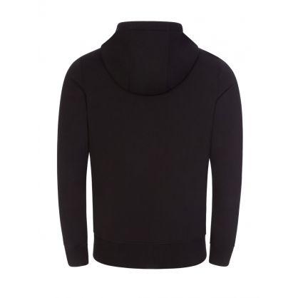 Black Magnapop Zip-Through Hoodie