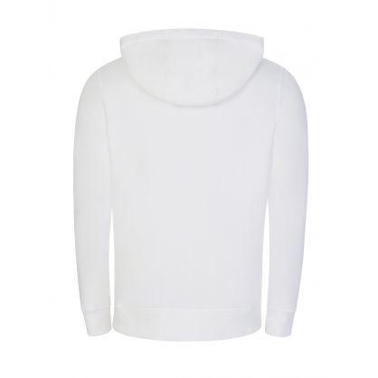 White Magnapop Zip-Through Hoodie