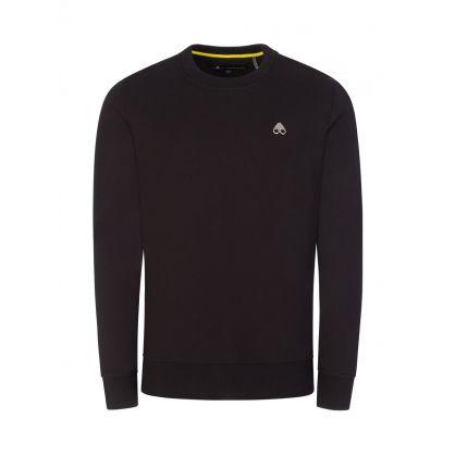 Black Greyfield Pullover Sweatshirt
