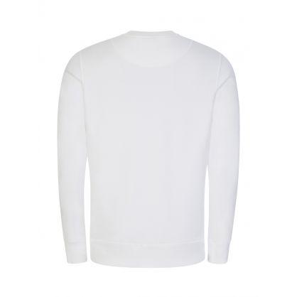 White Greyfield Pullover Sweatshirt