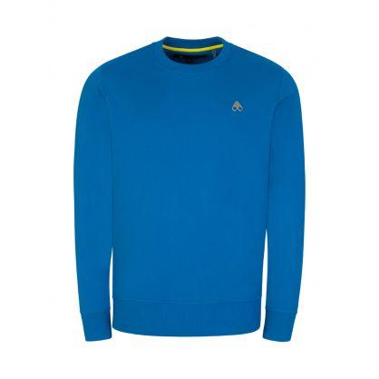 Blue Greyfield Pullover Sweatshirt