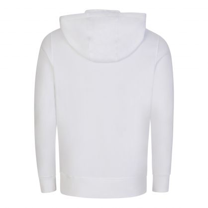 White Hornaday Zip-Through Hoodie