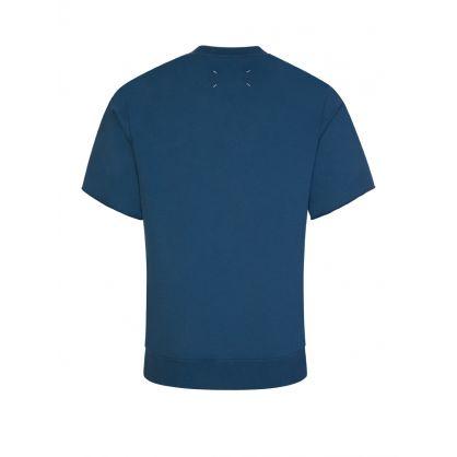 Blue 'Temptation' Logo Sweatshirt
