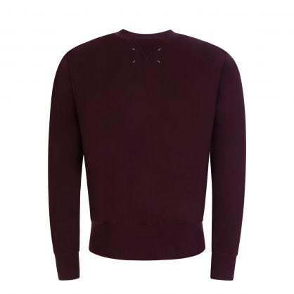 Burgundy Red Sweatshirt