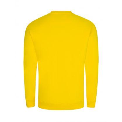 Yellow Logo Sweatshirt