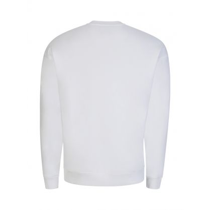 Couture White Logo Sweatshirt