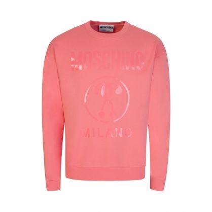 Pink Milano Logo Sweatshirt