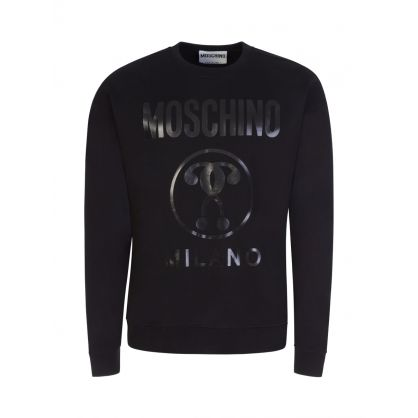 Couture Black Milano Logo Sweatshirt