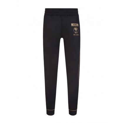 Black Couture Milano Logo Sweatpants