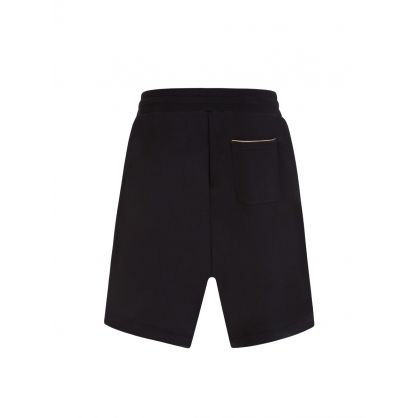 Black Milano Logo Sweat Shorts