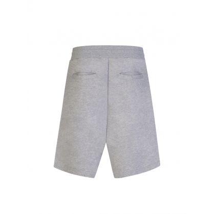 Grey Milano Logo Shorts