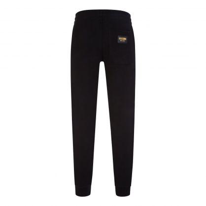 Black Pocket Logo Sweatpants