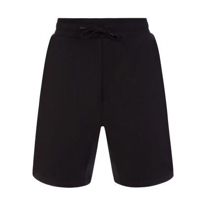Black Symbols Logo Sweat Shorts