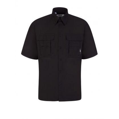 Black Short-Sleeve Shirt