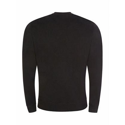 Black Logo Blackout Sweatshirt