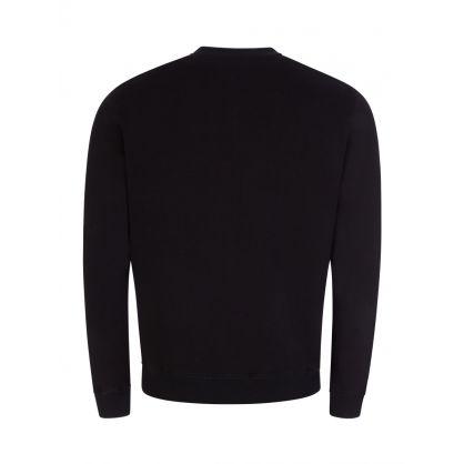 Black Venus Fly Trap Logo Sweatshirt