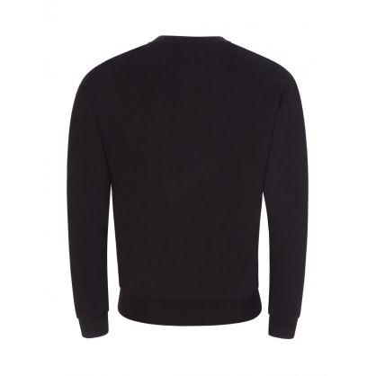 Swim Black Logo Beach Sweatshirt