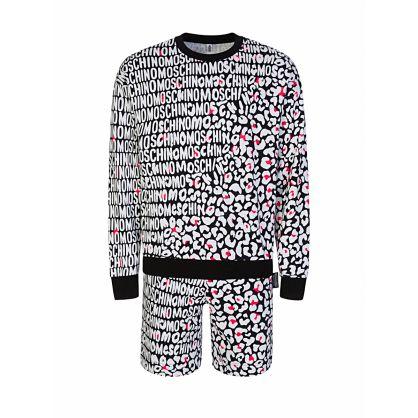 Loungewear Leopard Print Sweatshirt