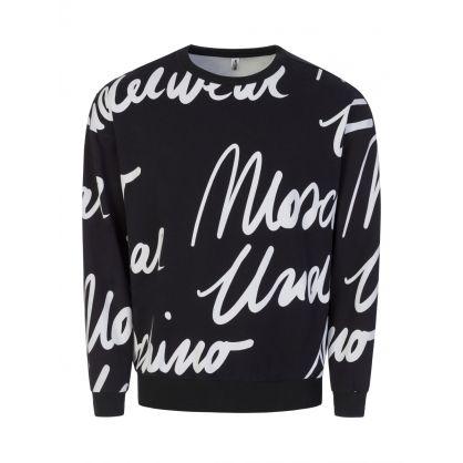 Black Script Sweatshirt