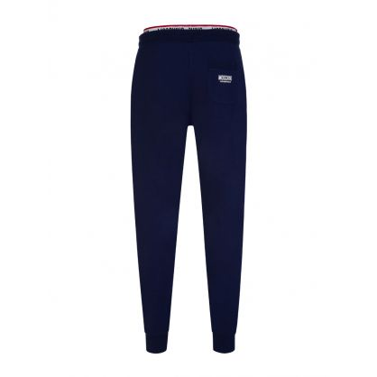 Navy Underwear Collection Logo Tape Sweatpants