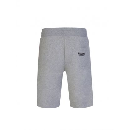 Grey Logo Taped Shorts