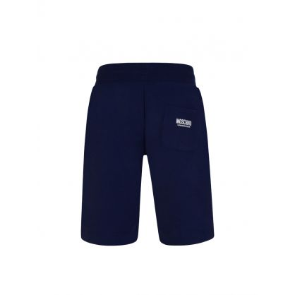 Navy Logo Tape Shorts