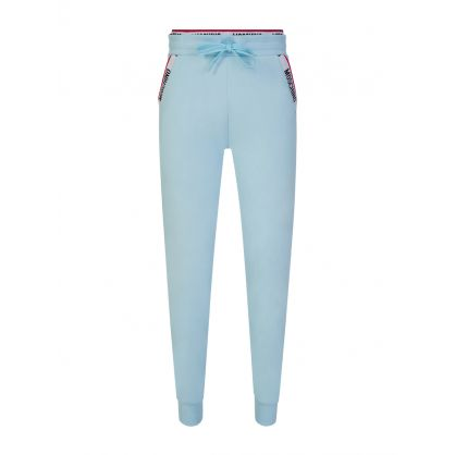 Light Blue Underwear Collection Logo Tape Sweatpants