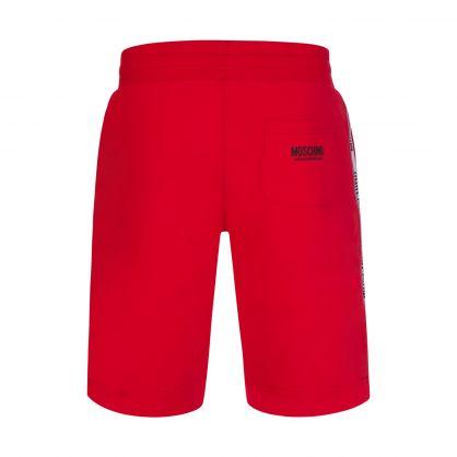 Red Logo Tape Shorts