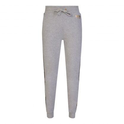 Grey Underwear Gold Bear Tape Sweatpants