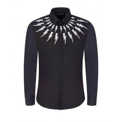 Black Thunderbolt Shirt
