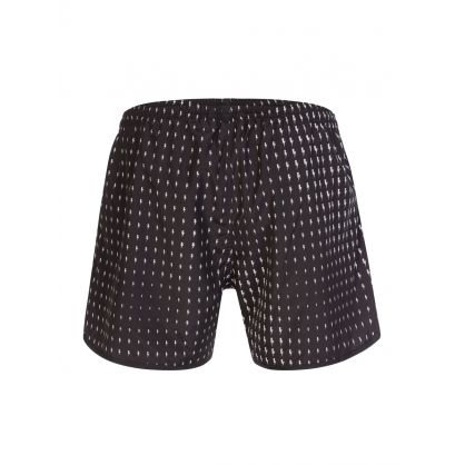 Black Waves Thunderbolt Swim Shorts