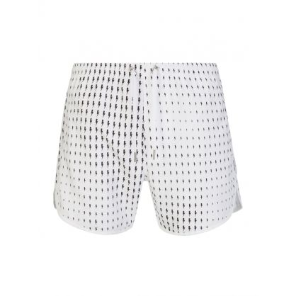 White Waves Thunderbolt Swim Shorts