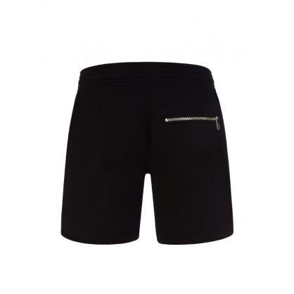 Black Starbolt Jersey Shorts