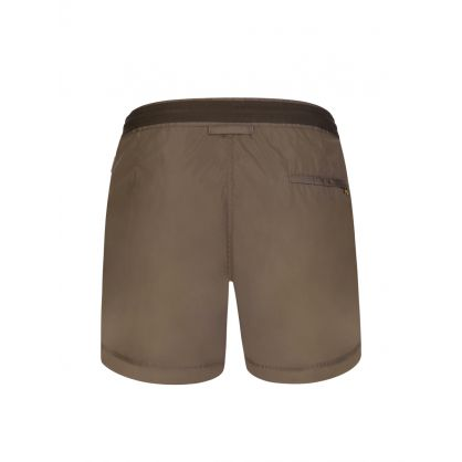 Brown Setter X Trim Drawcord Swim Shorts