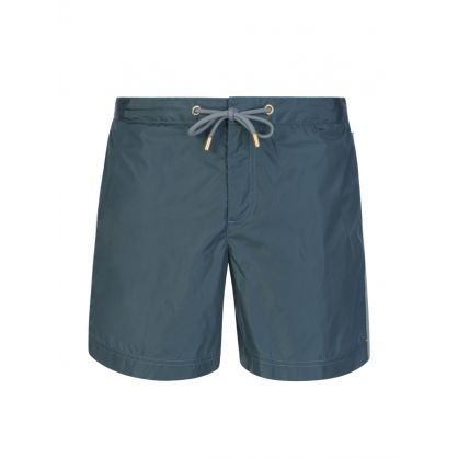 Green Bulldog X Swim Shorts