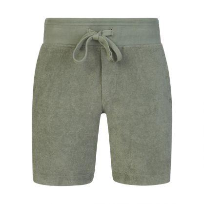 Green Afador Beach Towelling Shorts