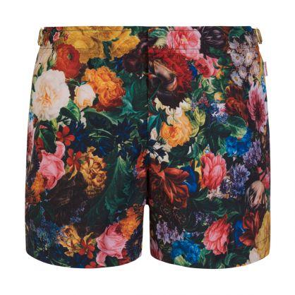 Wild Roses Setter Swim Shorts