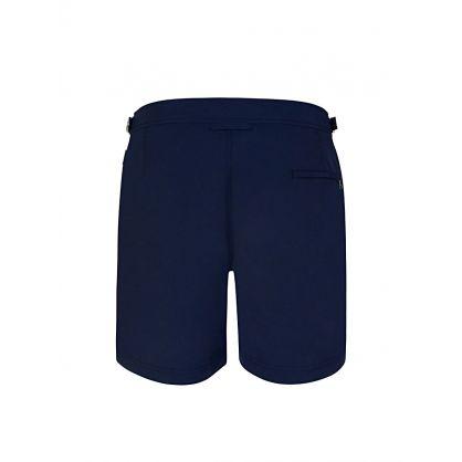 Navy Bulldog Swim Shorts