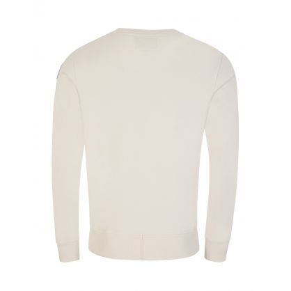 Cream Space Fleece Armstrong Tape Sweatshirt