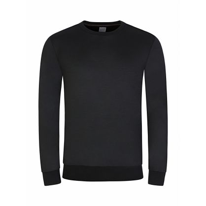 Black Taped Seam Sweatshirt