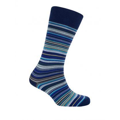 3 Pack Multi Stripe Socks