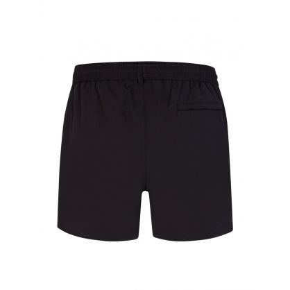Black 'Artist Stripe' Trim Swim Shorts