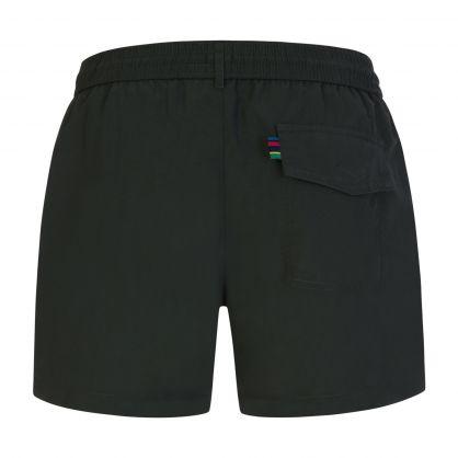 Green Zebra Swim Shorts
