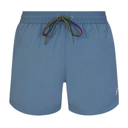 Grey Zebra Swim Shorts