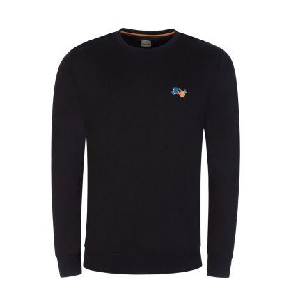 Black Paint Splatter Sweatshirt