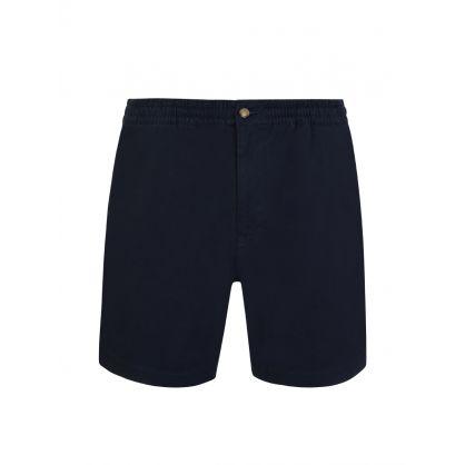 Navy Twill Prepster Shorts