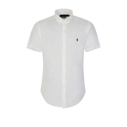 White Featherweight Twill Shirt