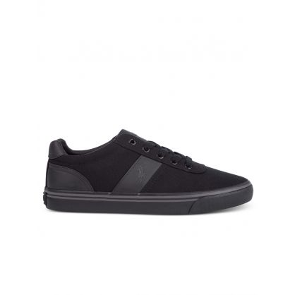 Black Canvas Hanford Trainers