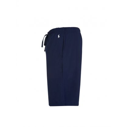 Navy Sleep Shorts